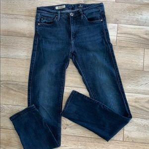 "AG ""the Prima Mid-Rise Cigarette"" Jeans"